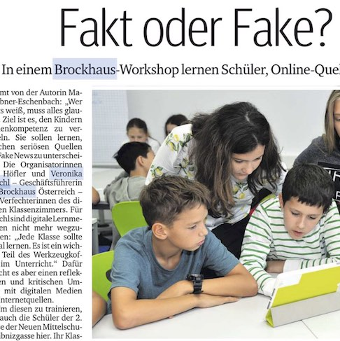 Brockhaus Fakt oder Fake-Workshop